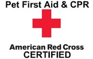 Red Cross Pet First Aid and CPR Certified